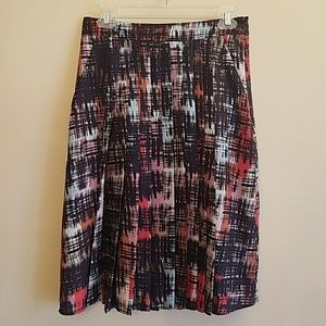 Anthropology fynn and rose pleated skirt . NWT. Si